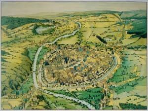 Chemnitz-um-1750