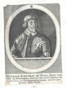 Dohna, Freiherr zu Wartenberg, Heinrich Burgraf und Graf von