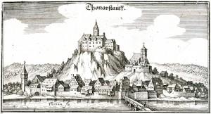 Donaustauf_Merian_1644
