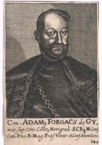 Forgách von Ghymes und Gács, Ádám Graf