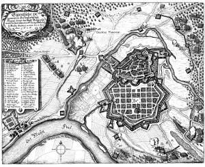 Hanau_Belagerungsplan_1636