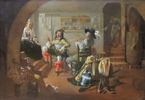 Jacob_Duck-Interior_with_Soldiers_and_Women