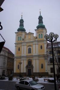 Königgrätz.Jesuitenkirche.Paddy