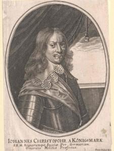Königsmarck, Hans Christoffer Graf