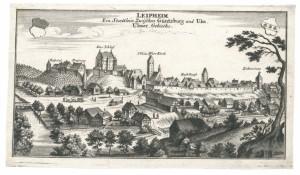 Leipheim. Ein Staettlein zwischen Güntzburg und Ulm, Ulmer Gebieths.