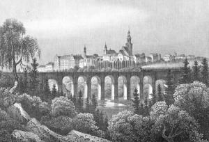 Loebau_um_1850
