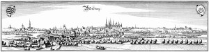 Merseburg-1650-Merian