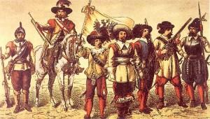 Musketiere u. Soldaten[1323]