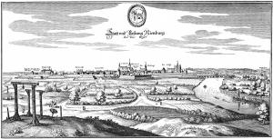 Nienburg_um_1650