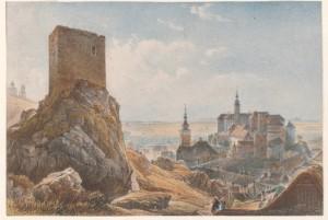 Nikolsburg von Nord-Ost
