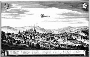 Pforzheim-1643-Merian