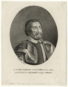 NPG D27182; ('Sir') James Ramsay ('Black Ramsay') after Sebastian Furck