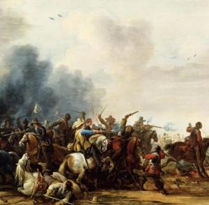 Reitergefecht[869]