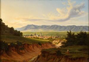 Roßla.Ernst_Helbig_Stadtansicht_1841