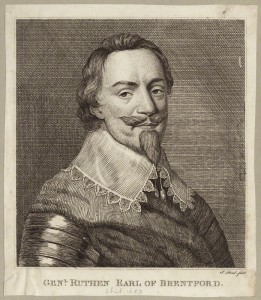 NPG D27080; Patrick Ruthven, Earl of Brentford by P. or S. Paul (Samuel de Wilde?)