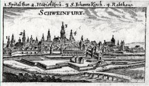 Schweinfurt um 1690-Christian Riegel
