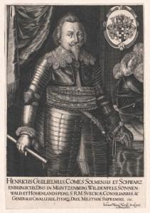 Solms-Sonnenwalde, Heinrich Wilhelm Graf zu