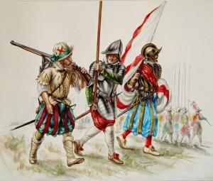 Spanische Soldaten-1