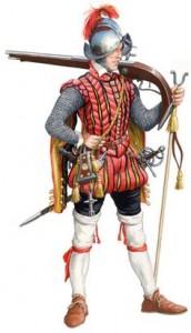 Spanischer Musketier