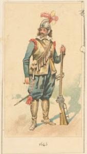 Spanischer Musketier 2