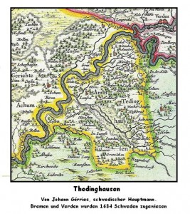 Thedinghausen-Karte