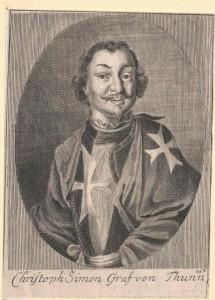 Thun-Castell-Brughier, Christoph Simon Graf von