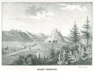 Velburg_um_1840