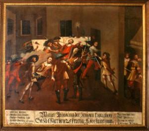Wallenstein, Exekution