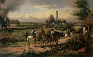 Zerstörung eines Dorfes[878]