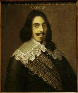 Bernhard von Sachsen-Weimar / Gemaelde - Bernard of Saxony-Weimar / Painting 1660 - Bernard de Saxe-Weimar / Peinture.